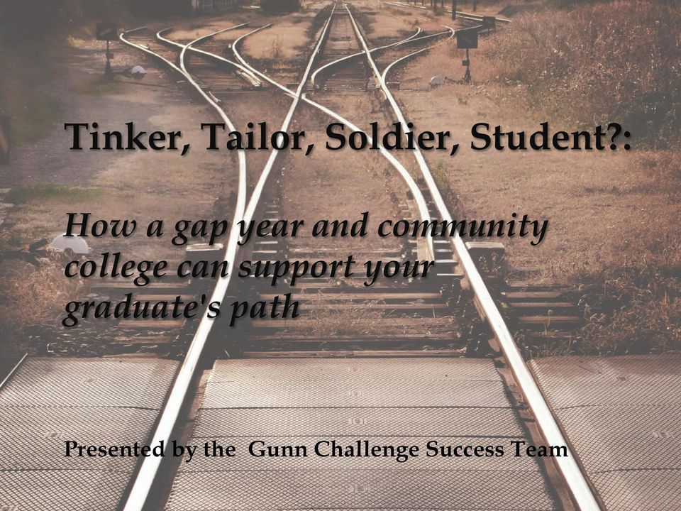 college can support your graduate's
