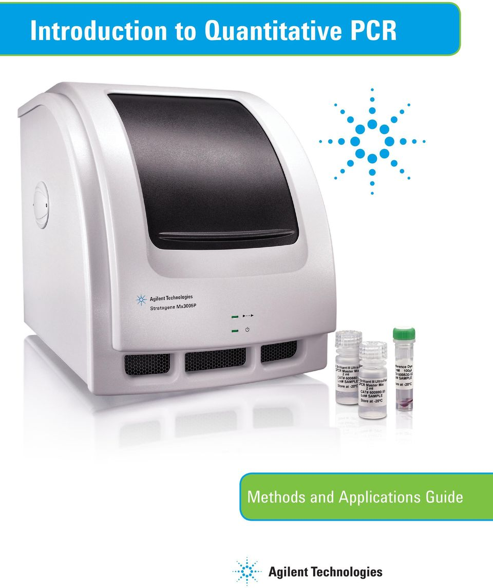 PCR Methods and
