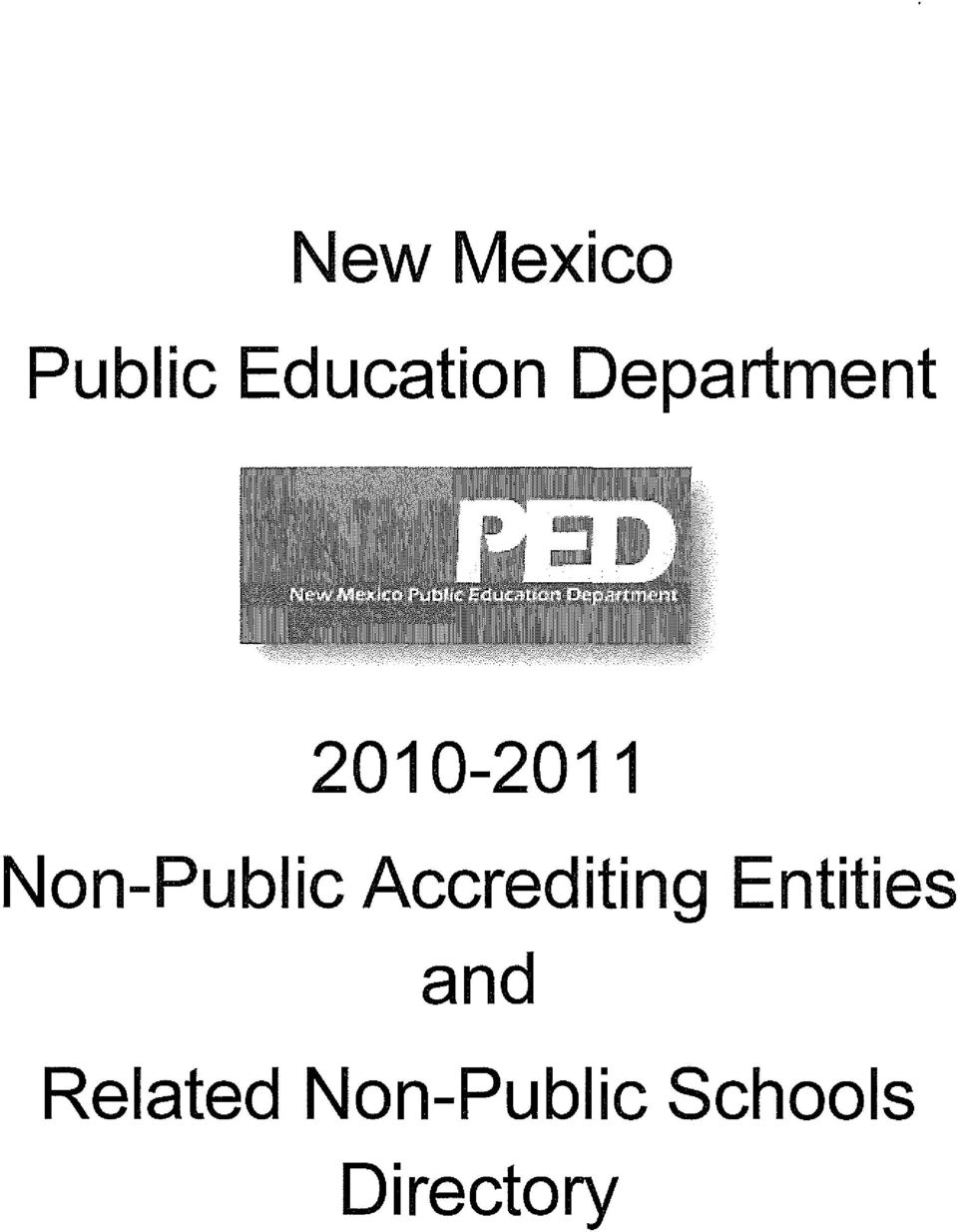 Non-Public Accrediting