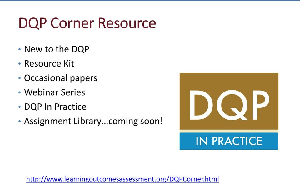 Practice Assignment Library coming soon!