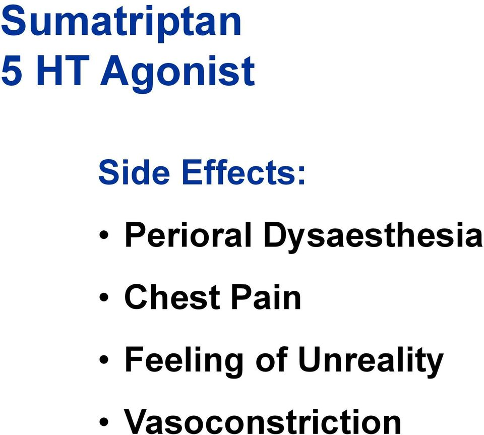Dysaesthesia Chest Pain