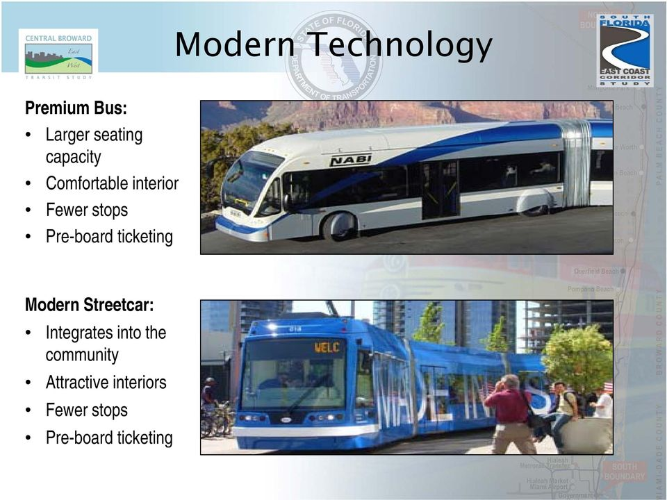 ticketing Modern Streetcar: Integrates into the