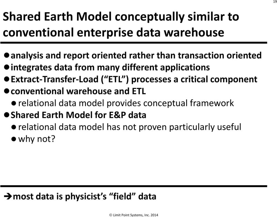 processes a critical component conventional warehouse and ETL relational data model provides conceptual framework