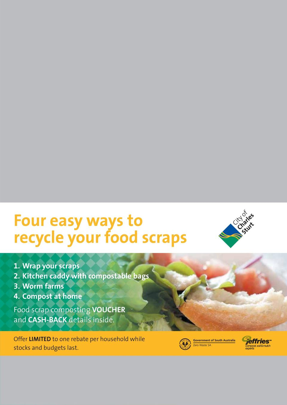 Compost at home Food scrap composting VOUCHER and CASH-BACK details