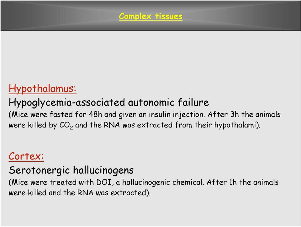 After 3h the animals were killed by CO 2 and the RNA was extracted from their hypothalami).