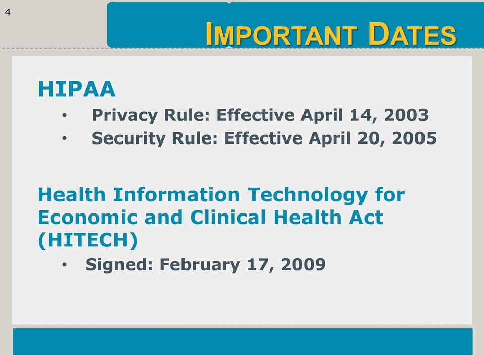 2005 Health Information Technology for Economic