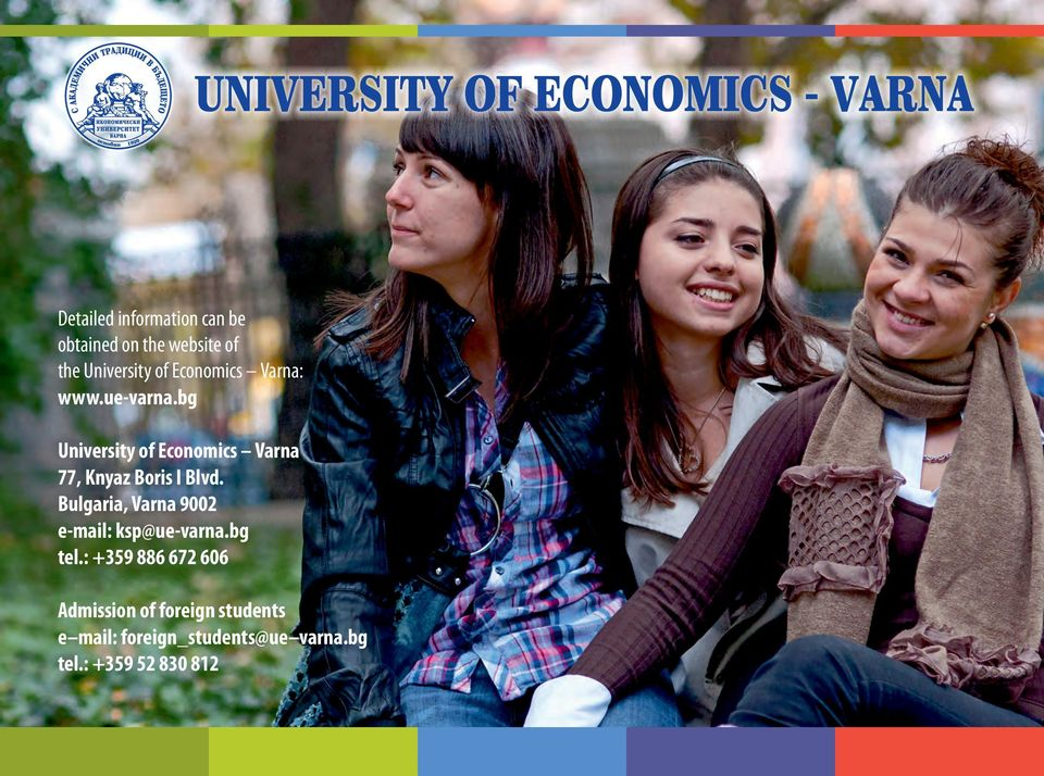 bg University of Economics Varna 77, Knyaz Boris I Blvd.