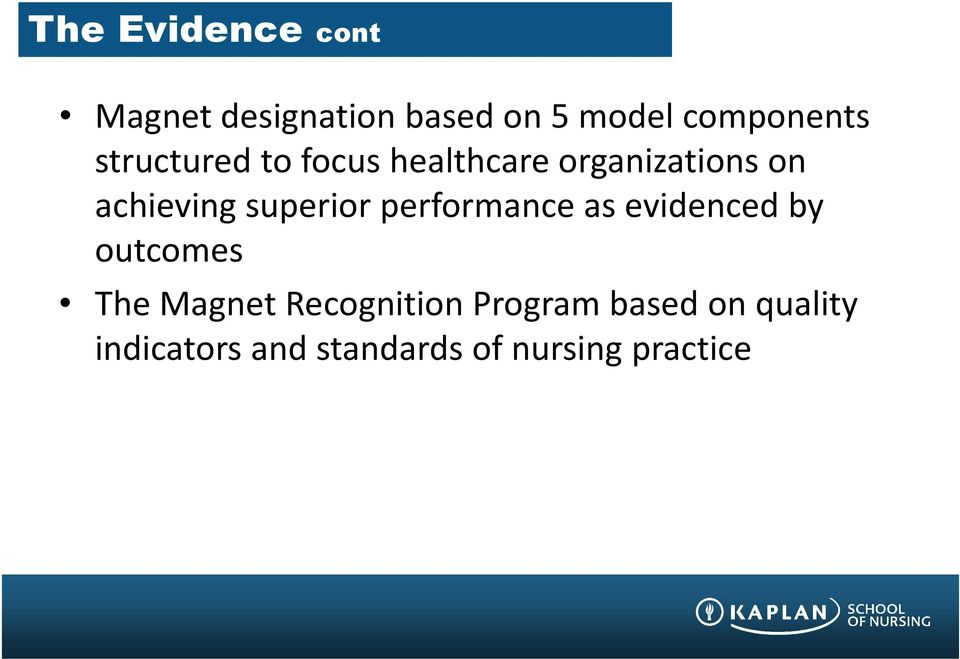 achieving superior performance as evidenced by outcomes The Magnet