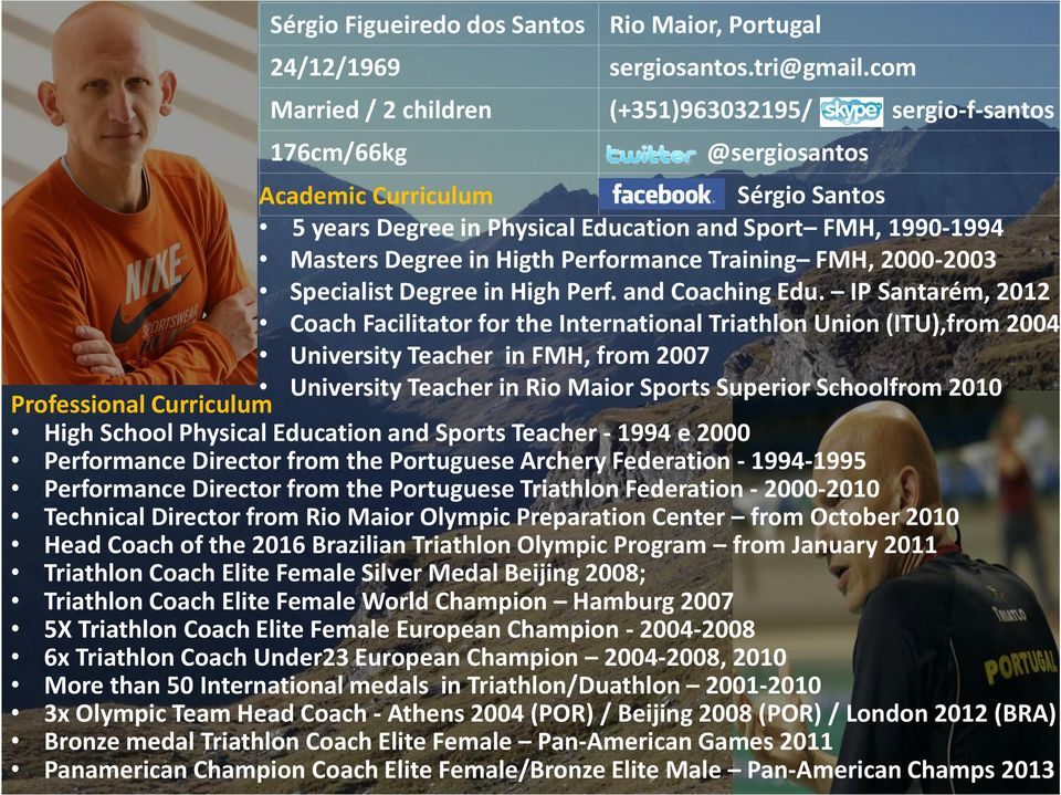 Higth Performance Training FMH, 2000-2003 Specialist Degree in High Perf. and Coaching Edu.