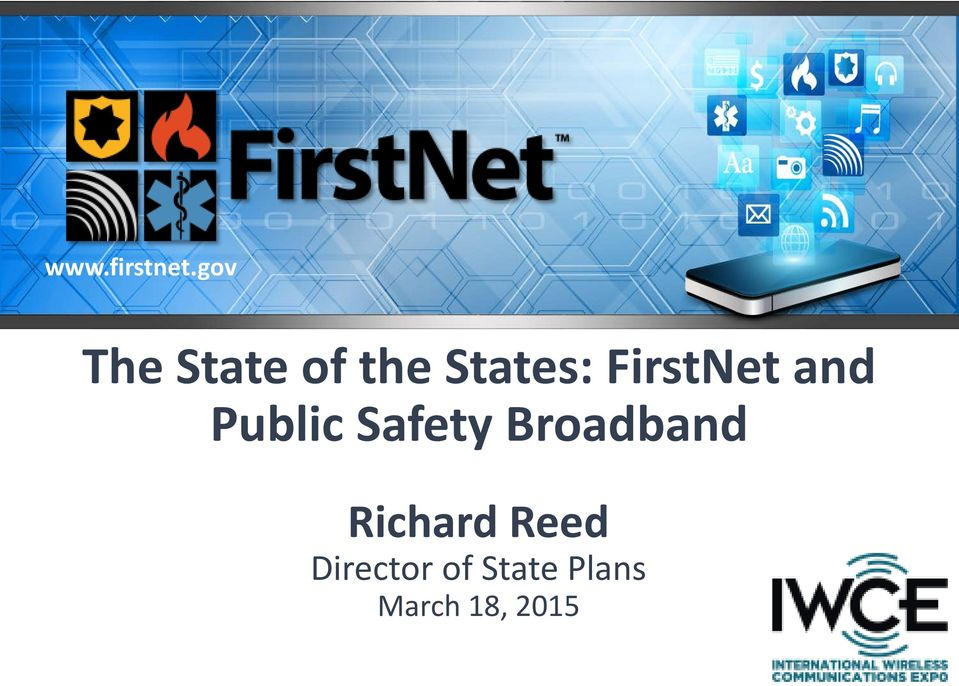 FirstNet and Public Safety