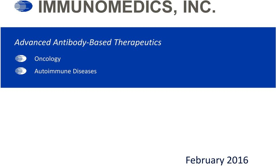 Therapeutics Oncology