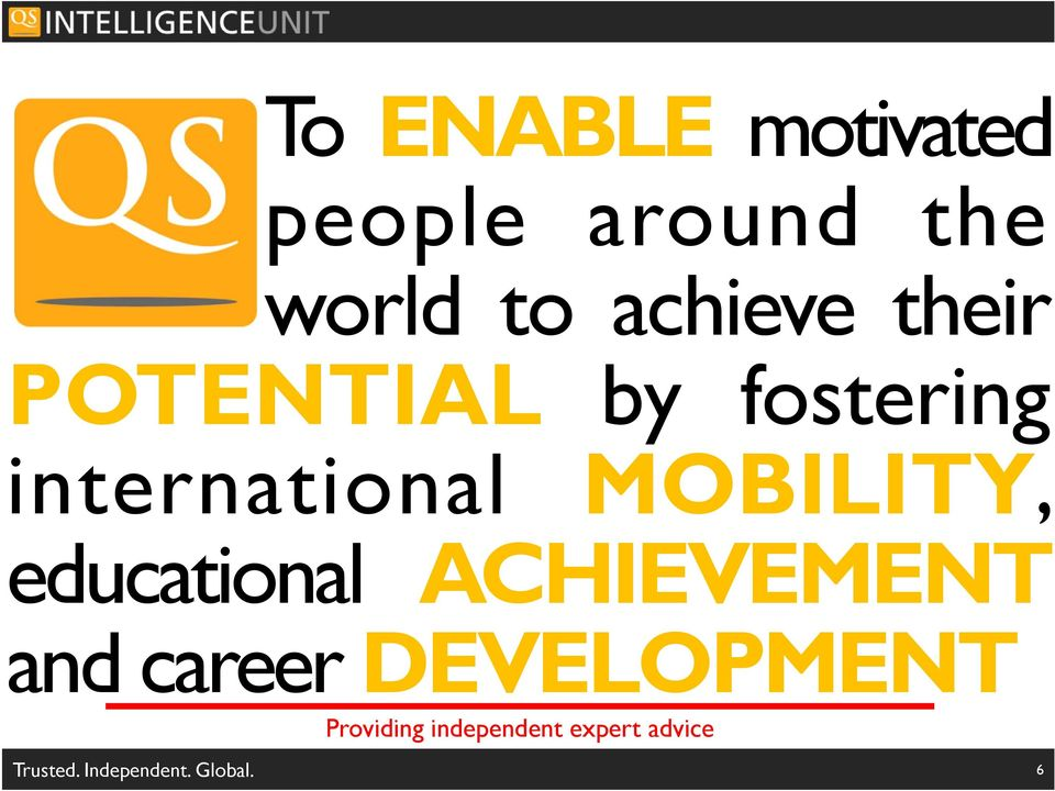 educational ACHIEVEMENT and career DEVELOPMENT