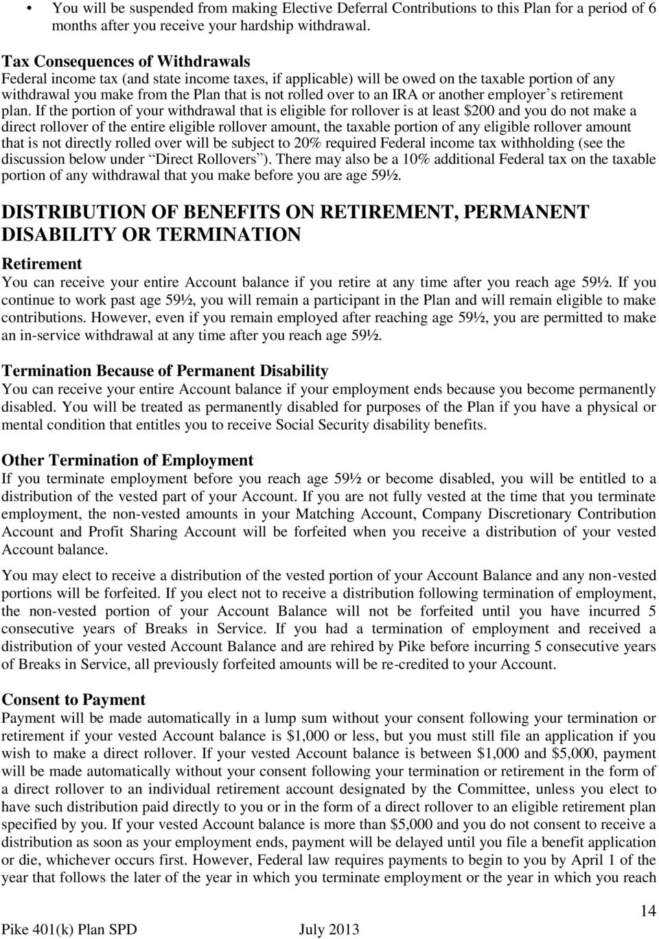IRA or another employer s retirement plan.