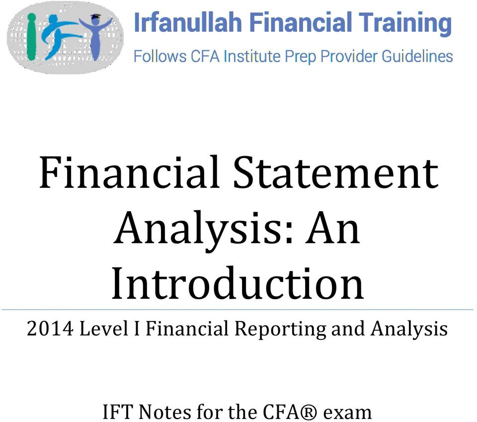 Financial Reporting and