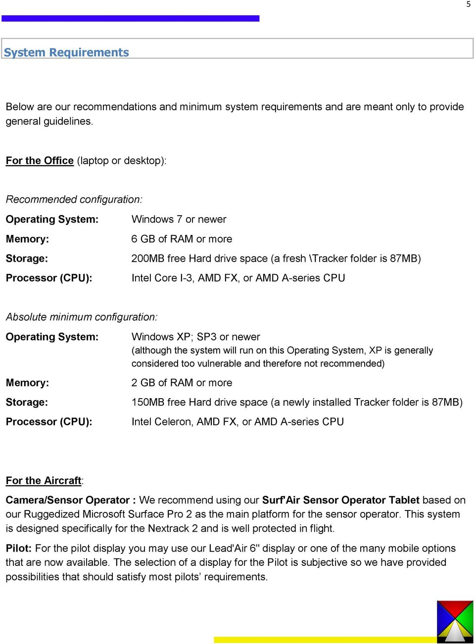 X-TRACK  snapview FLIGHT MANAGEMENT SYSTEM SOFTWARE LEAD AIR
