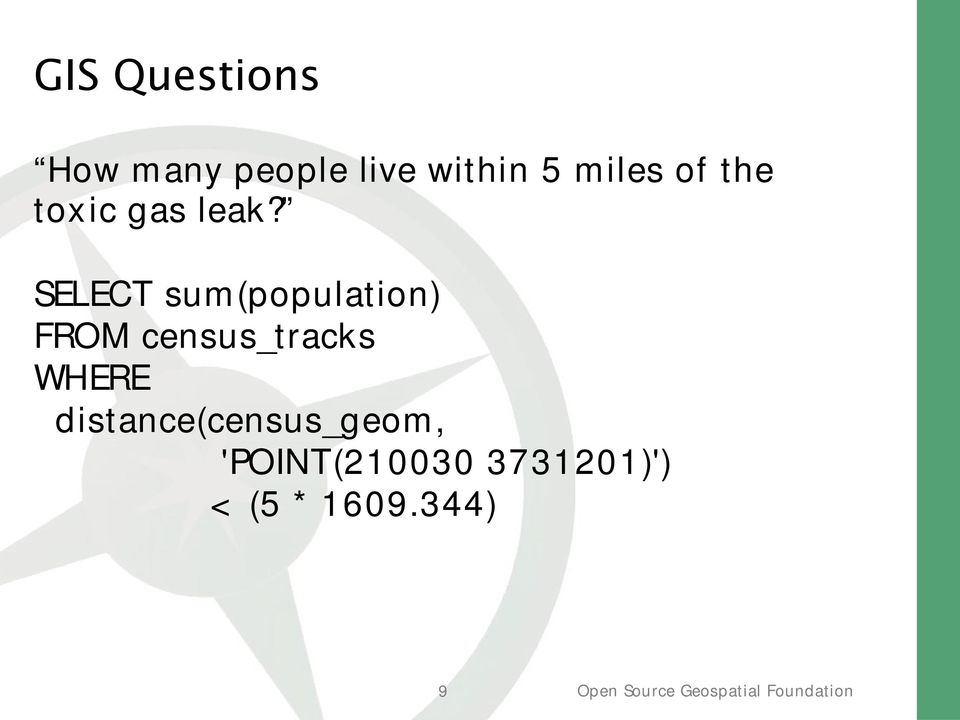 SELECT sum(population) FROM census_tracks
