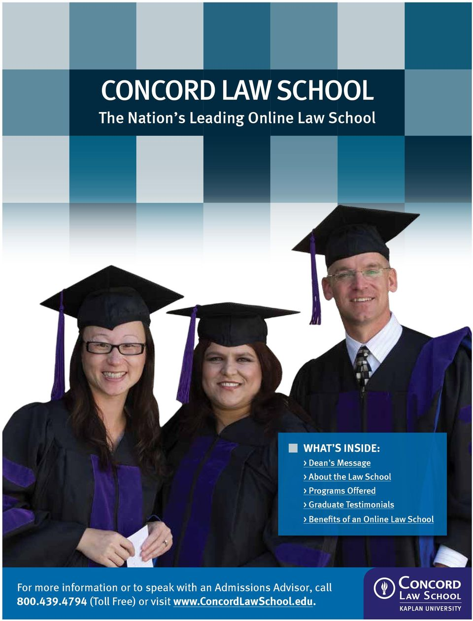 of an Online Law School For more information or to speak with an