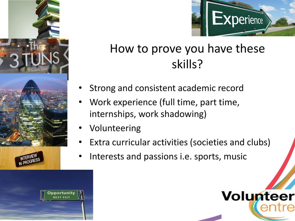 How to prove you have these skills?