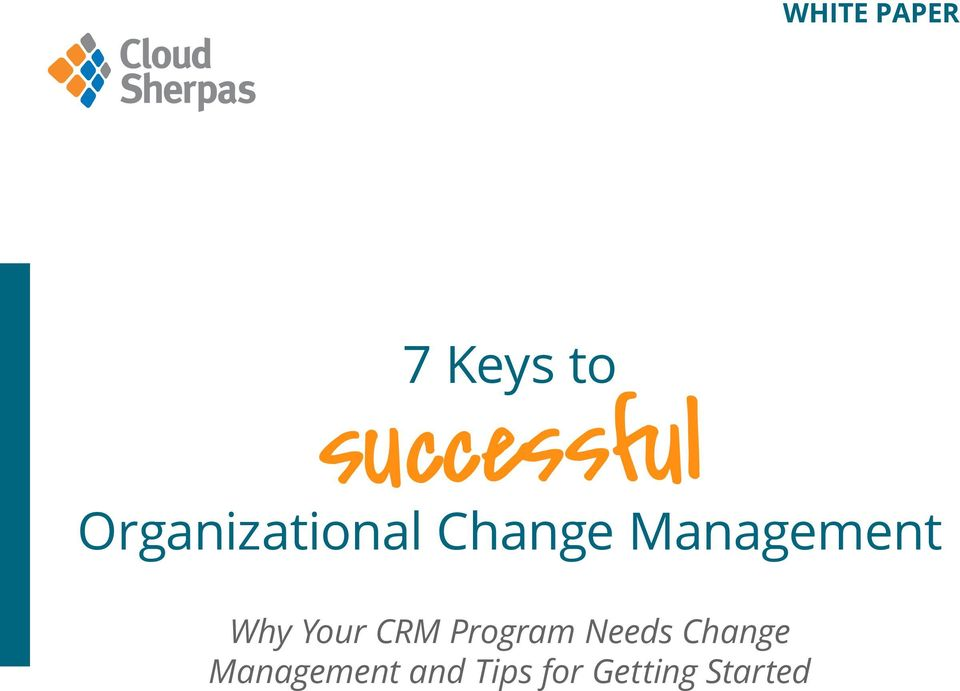 Management Why Your CRM Program
