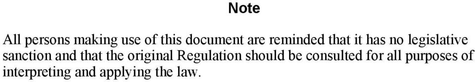 that the original Regulation should be consulted