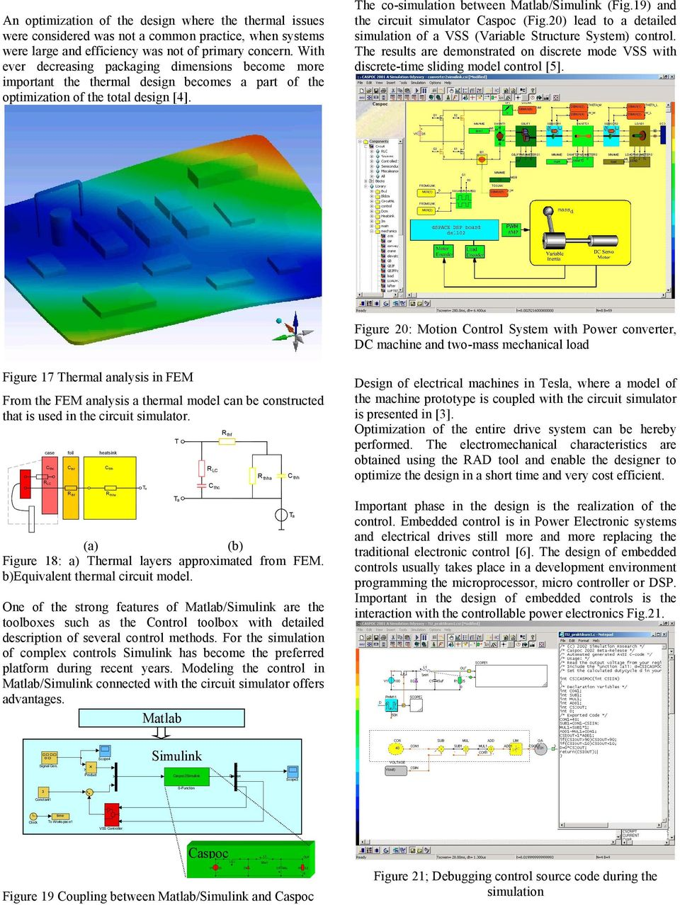 Simulation and Animation of Power Electronics and Drives