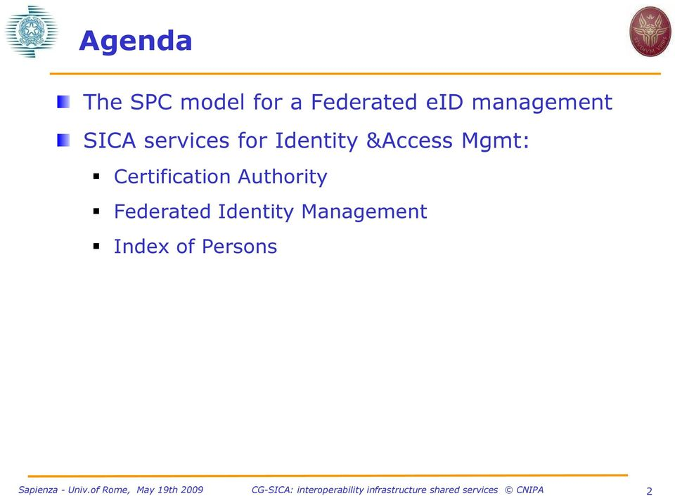 &Access Mgmt: Certification Authority