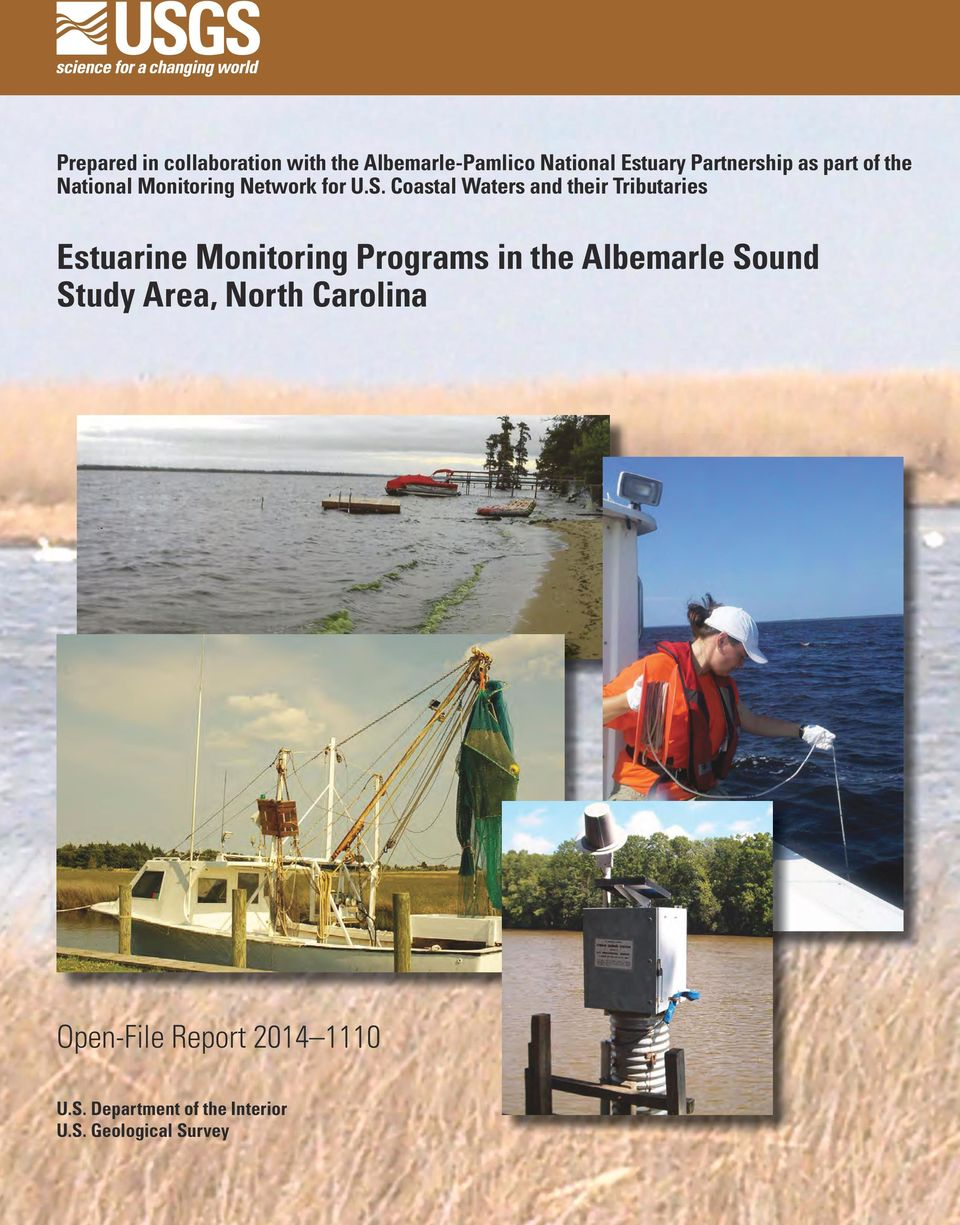 Coastal Waters and their Tributaries Estuarine Monitoring Programs in the