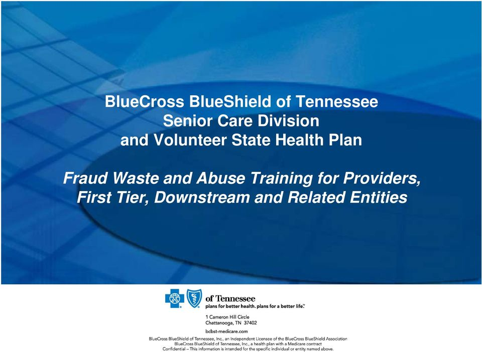 Plan Fraud Waste and Abuse Training for