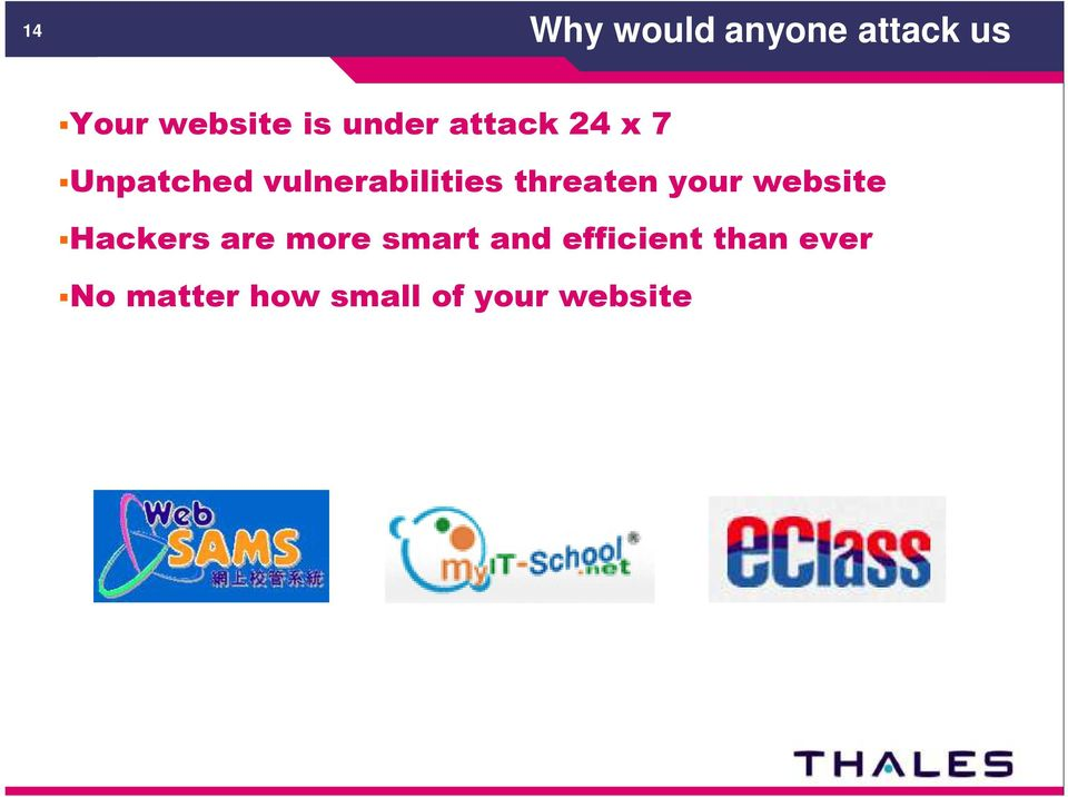 threaten your website Hackers are more smart and