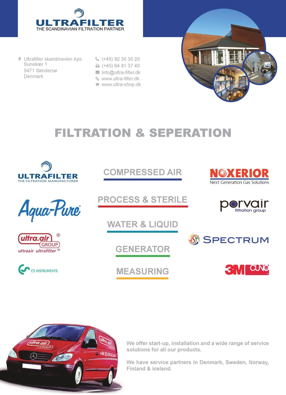 dk FILTRATION & SEPERATION COMPRESSED AIR PROCESS & STERILE ultraair ultrafilter WATER & LIQUID GENERATOR
