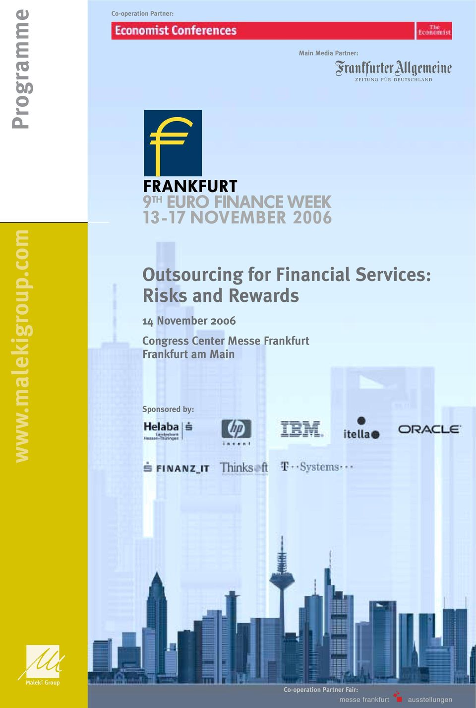 com Outsourcing for Financial Services: Risks and
