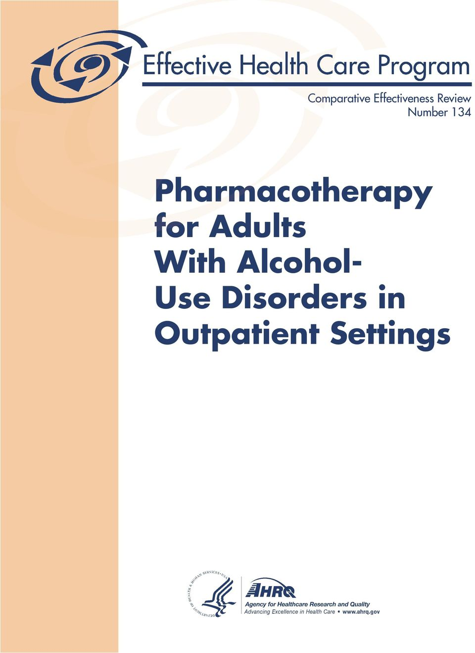 Pharmacotherapy for Adults
