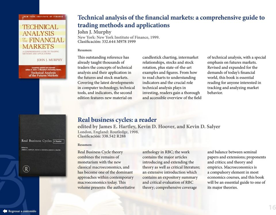 Covering the latest developments in computer technology, technical tools, and indicators, the second edition features new material on candlestick charting, intermarket relationships, stocks and stock