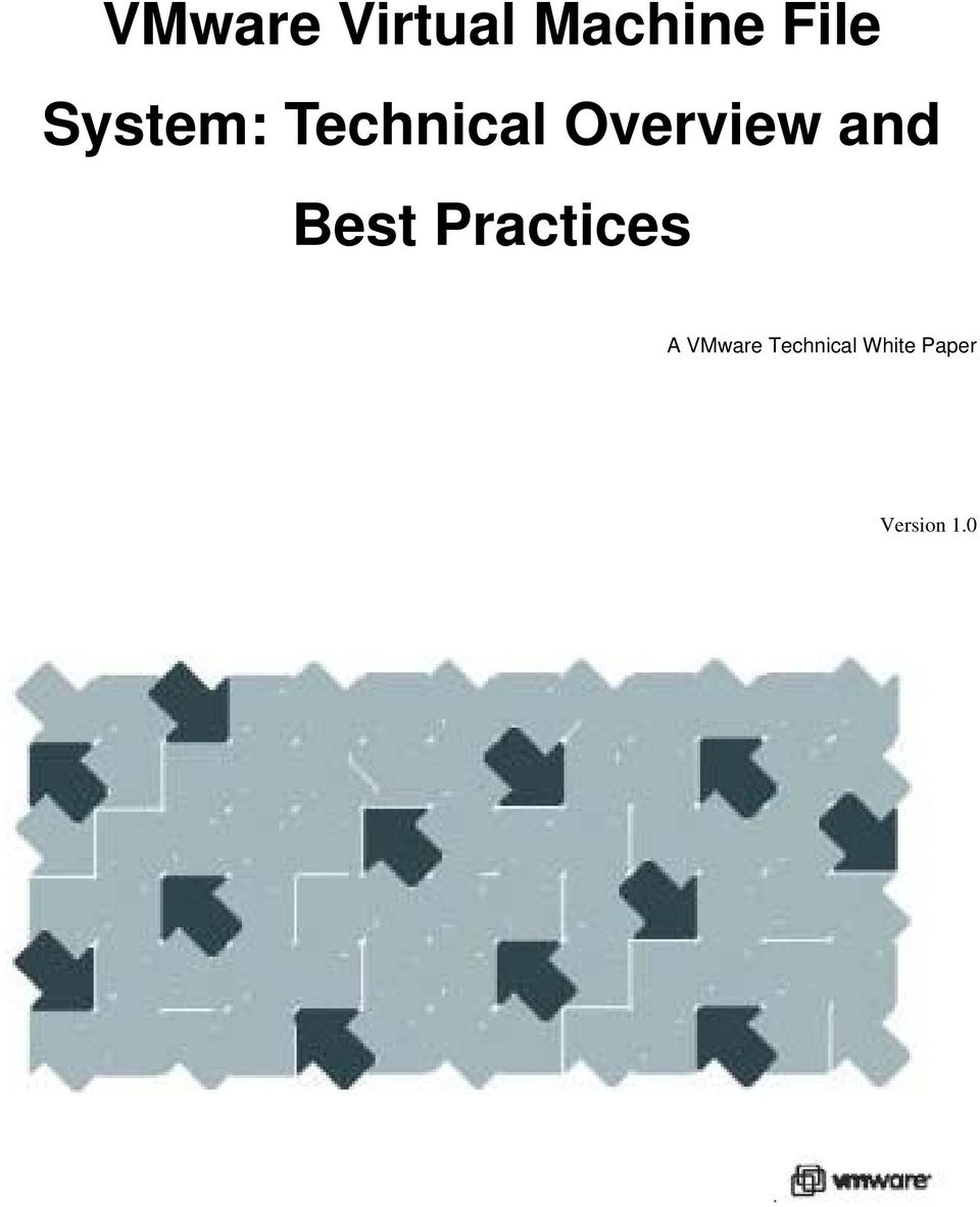 and Best Practices A VMware