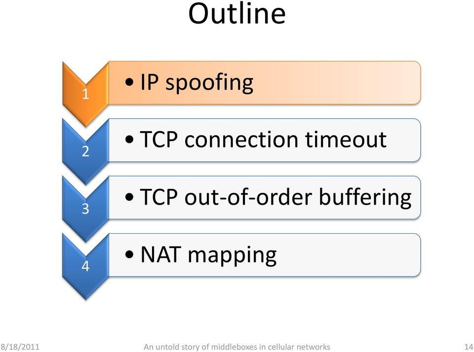 2 TCP out-of-order