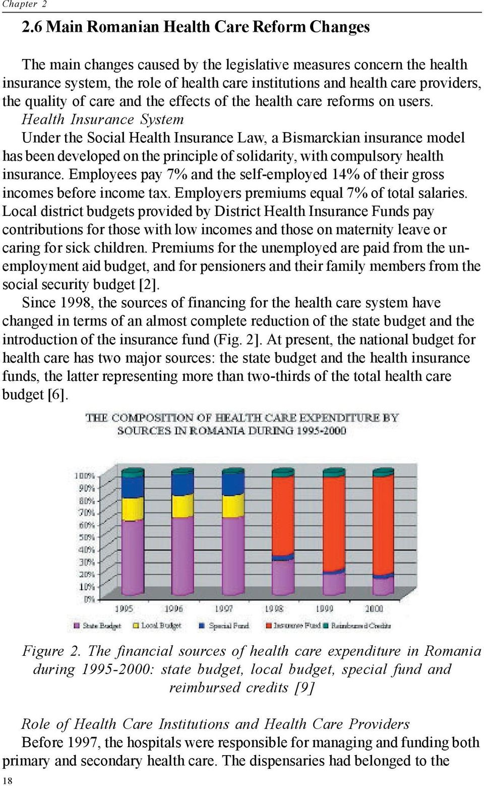 quality of care and the effects of the health care reforms on users.