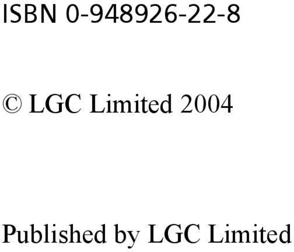 LGC Limited