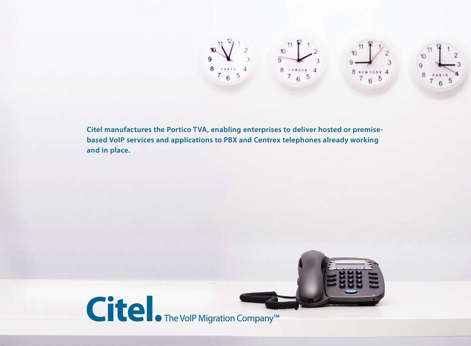 product to PBX and suite Centrex enables telephones remote already workers working