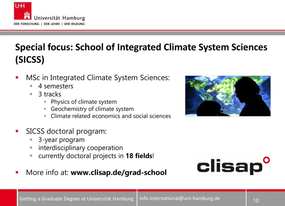 Climate related economics and social sciences SICSS doctoral program: 3-year program