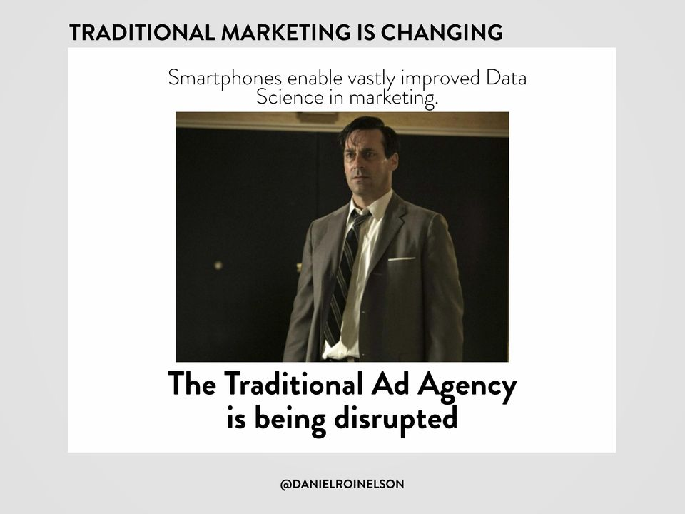 Data Science in marketing.