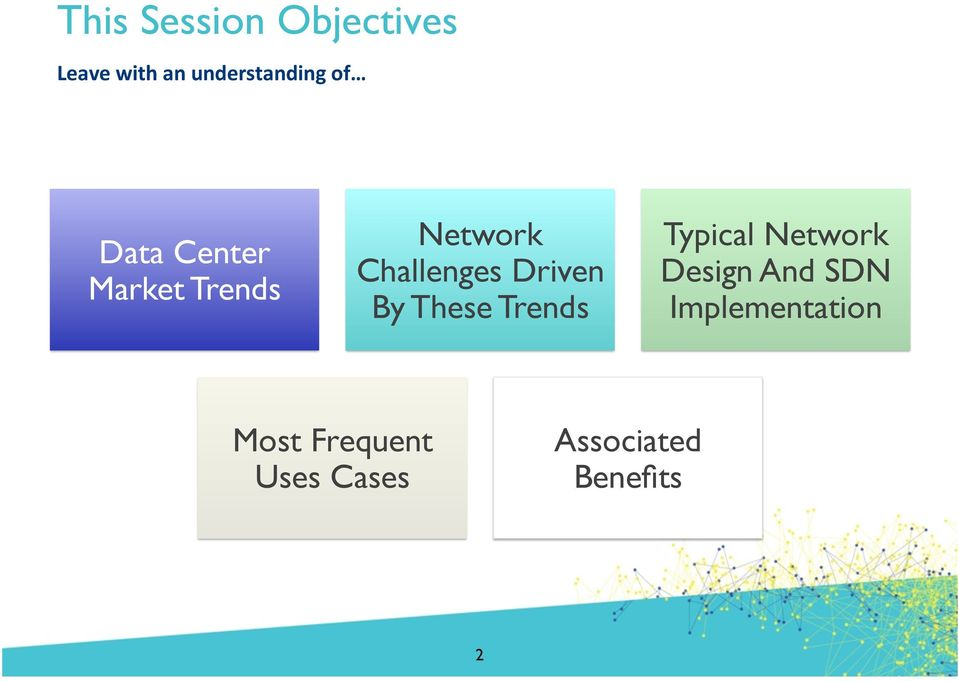 Driven By These Trends Typical Network Design And SDN