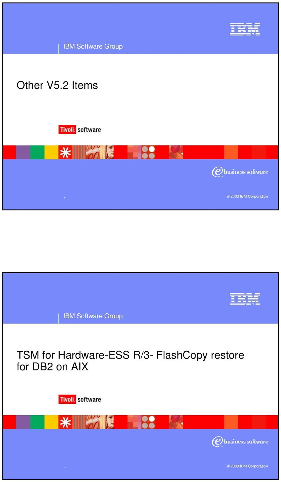 for Hardware-ESS R/3- FlashCopy restore for