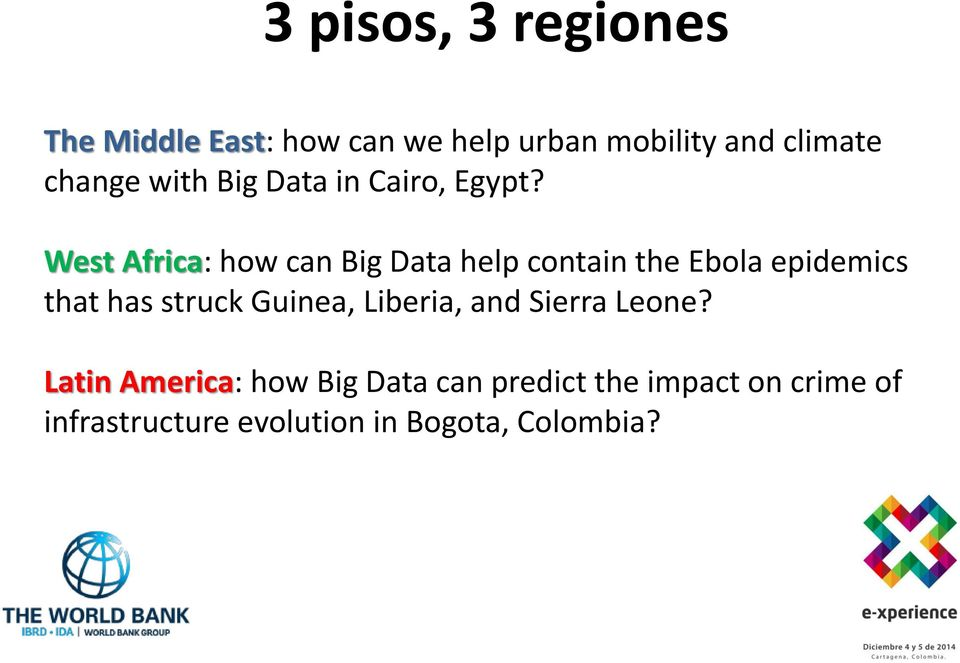 West Africa: how can Big Data help contain the Ebola epidemics that has struck