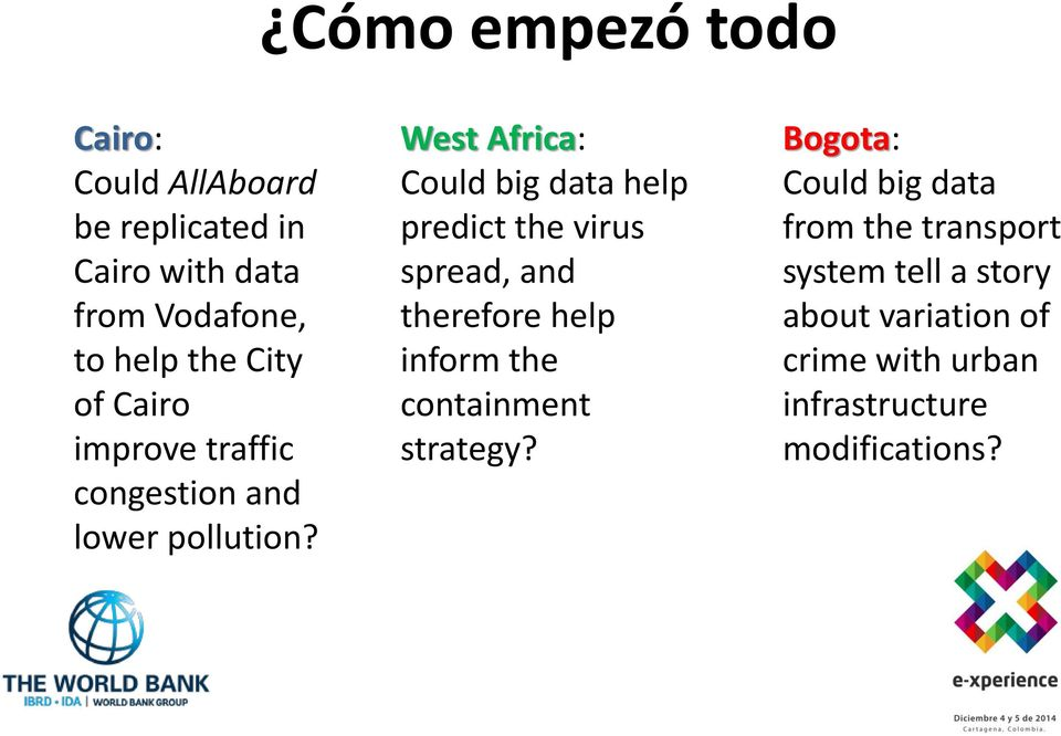 West Africa: Could big data help predict the virus spread, and therefore help inform the
