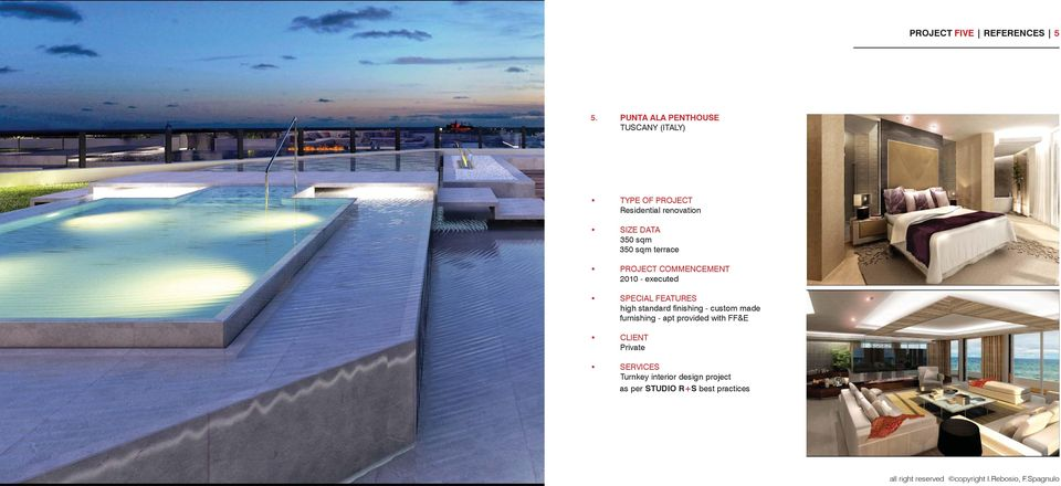 350 sqm 350 sqm terrace 2010 - executed high standard