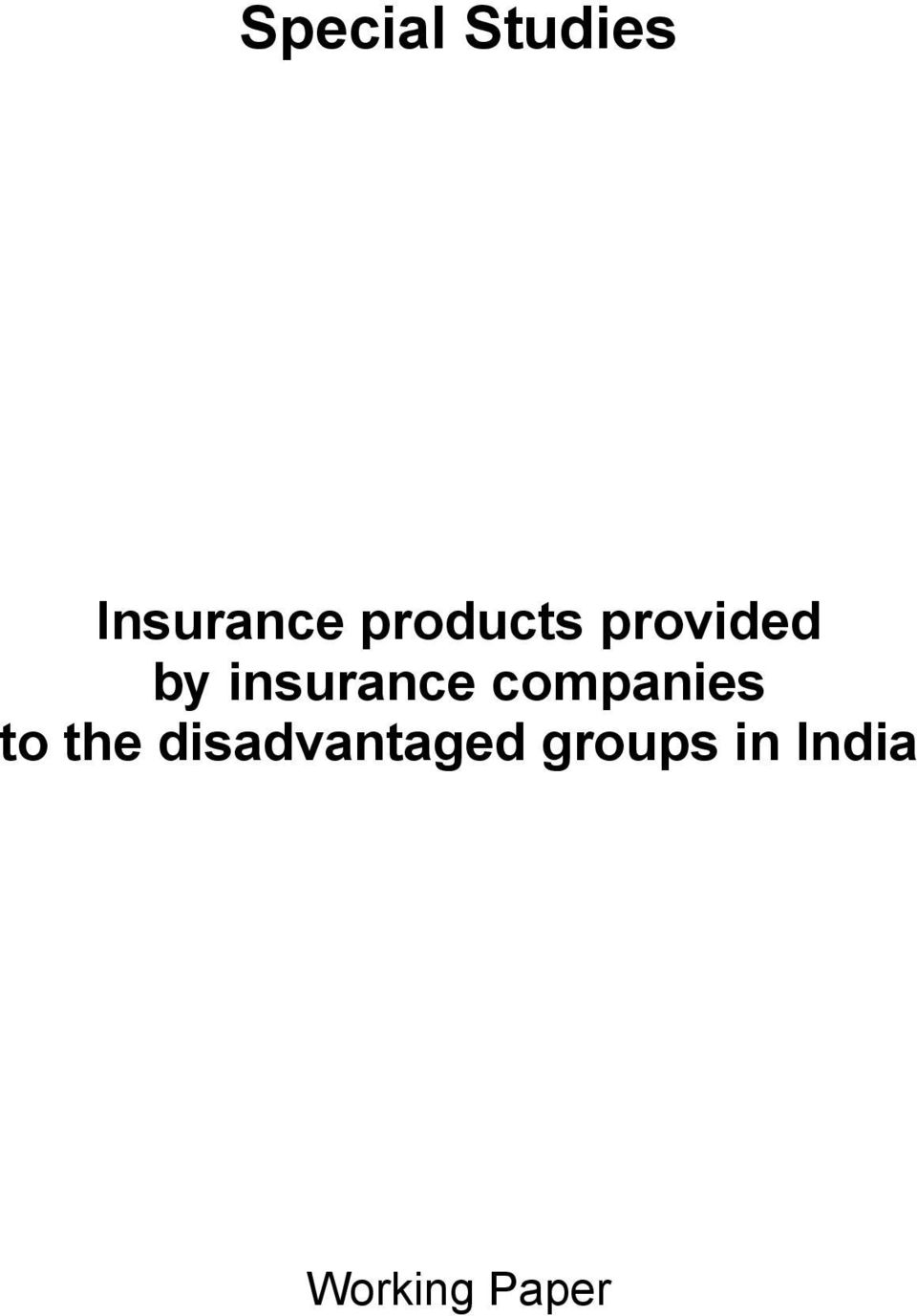 insurance companies to the
