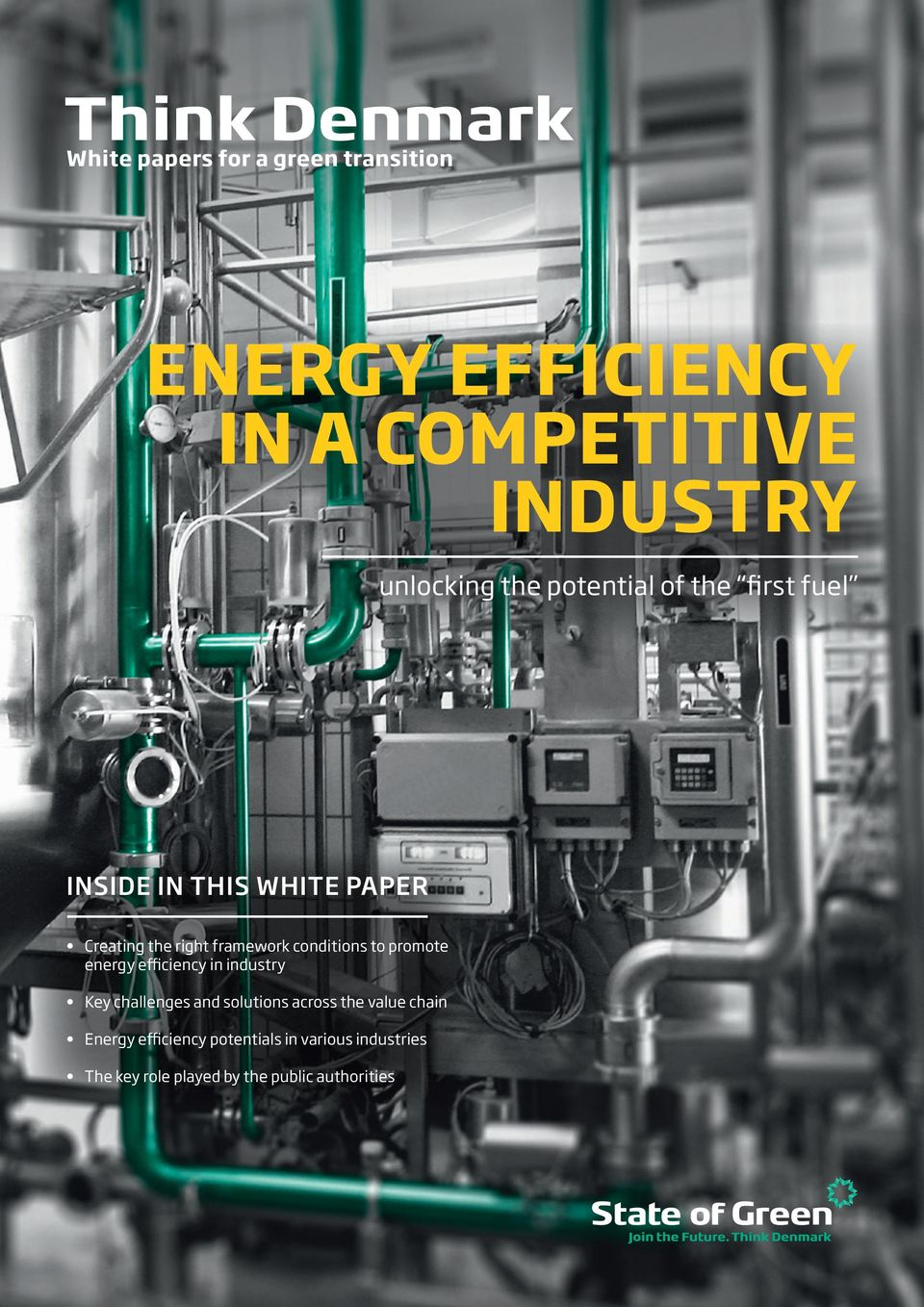 to promote energy efficiency in industry Key challenges and solutions across the value chain