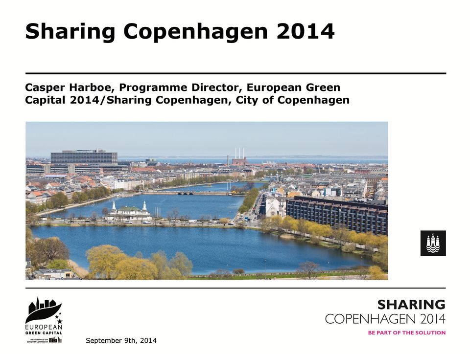 Green Capital 2014/Sharing