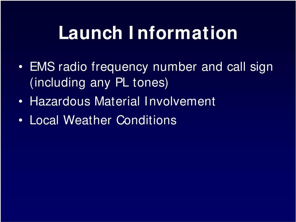 (including any PL tones) Hazardous