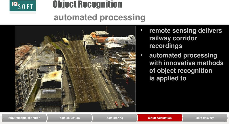 automated processing with innovative methods of object recognition is applied to result
